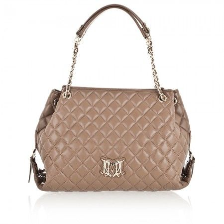 LOVE MOSCHINO Shoulder Bag Taupe JC4029 New Collection   286$