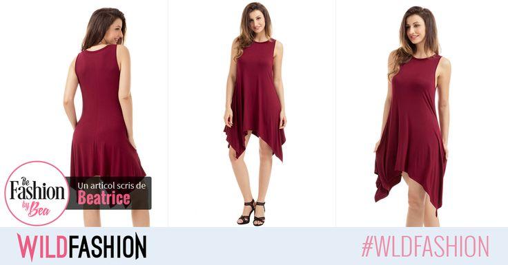 O rochita casual este un must-have in garderoba ta... Ce zici de un nou model deosebit ca acesta?