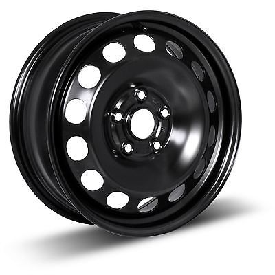 auto-parts-general: 1 New 14X6 +45 Black Steel Wheel Rim 5X100 #motor - 1 New 14X6 +45 Black Steel Wheel Rim 5X100...
