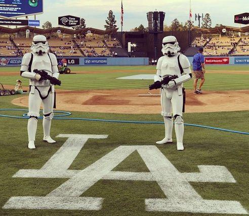 #stormtroopers #storm Troopers #mlb #dodgers