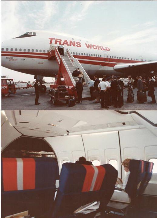 TWA Lockheed L-1011-1   Airplane interior, Lockheed ...  Twa 747 Cabin