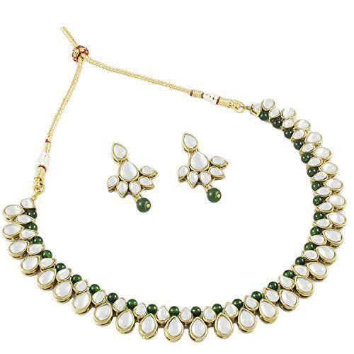 Ethnic Gold Tone Green Pearl Kundan Indian Bollywood Trad... https://www.amazon.com/dp/B01N5BUU8D/ref=cm_sw_r_pi_dp_x_Q3fJybH2Y4SB1