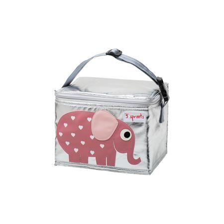 3 Sprouts Сумка для обеда Слоник (Pink Elephant SPR1001), 3 Sprouts, розовый  — 1599р.  Прекрасная сумка для обеда! Размер идеален для контейнеров, так что вы можете отправить детей в школу вместе с сытными закусками и обедами.  Дополнительная информация:  - Размер: 17х17х22 см. - Материал: полиуретан, полиэтиленовая пена, PEVA. - Орнамент: Слоник. - Цвет: розовый.  Купить сумку для обеда Слоник (Pink Elephant), можно в нашем магазине.