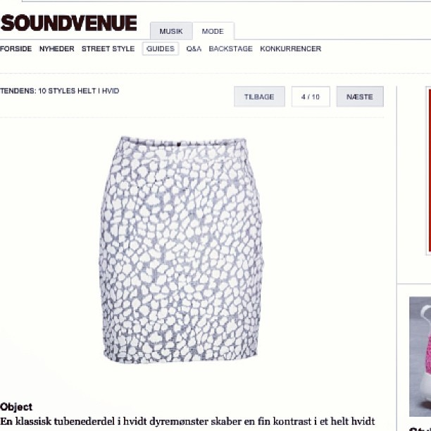 Soundvenue styles wise and white www.soundvenue.com #objectfashion