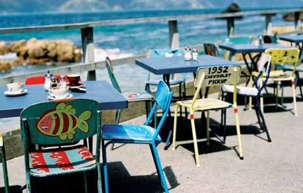 Chocolate Fish Cafe, Wellington, New Zealand