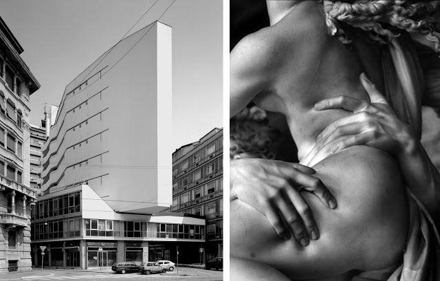 """""""DEFORMAR"""" http://www.santiagodemolina.com/2015/08/deformar.html  """"El edificio de Luigi Moretti en el Corso Italia, en Milán, con su quilla blanca en vuelo, asomando sobre la calle como una piedra, afilada y pesada es una buena muestra de lo que significa """"deformar"""" en arquitectura"""". http://www.santiagodemolina.com/2015/08/deformar.html"""