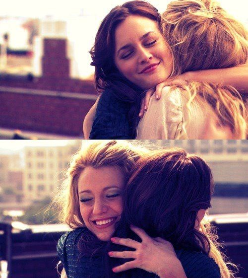 another best friend hug xxx hugs do a person good, no matter how much you don't think they do