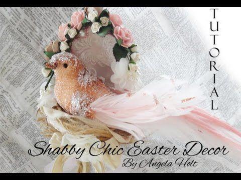 Shabby Chic Easter Egg Tutorial