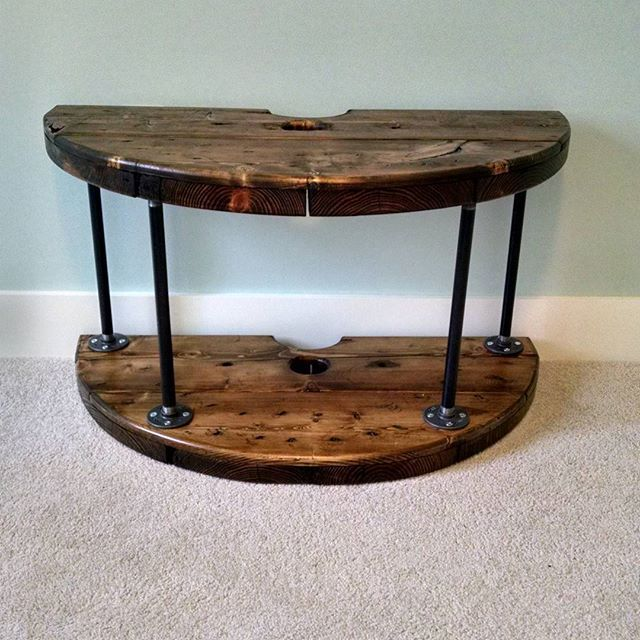 17 best images about projects to try on pinterest table for Wire reel furniture