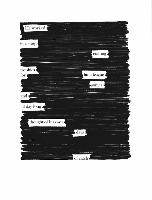 blackout poems did this with our 6th graders and they loved it great for getting kids to do. Black Bedroom Furniture Sets. Home Design Ideas