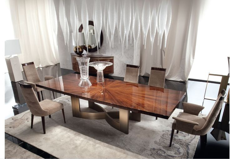 Our show stopping Coliseum Dining Suite 100% made in Italy. www.sovereigninteriors.com.au
