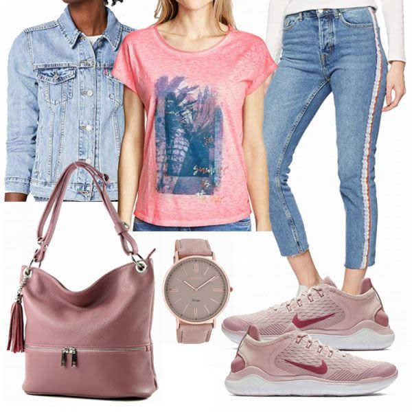 Sommer-Outfits: Cecil Rose bei FrauenOutfits.de #mode #damenmode #frauenmode #ou…