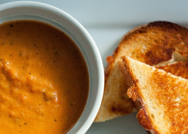 """the absolute best tomato soup i've ever had"""