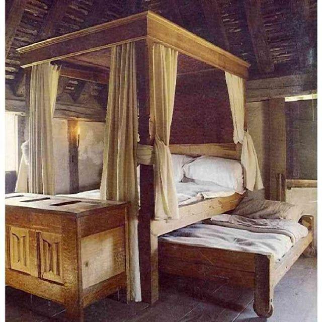 MI PARAISO ESCONDIDO: Dormitorio medieval.