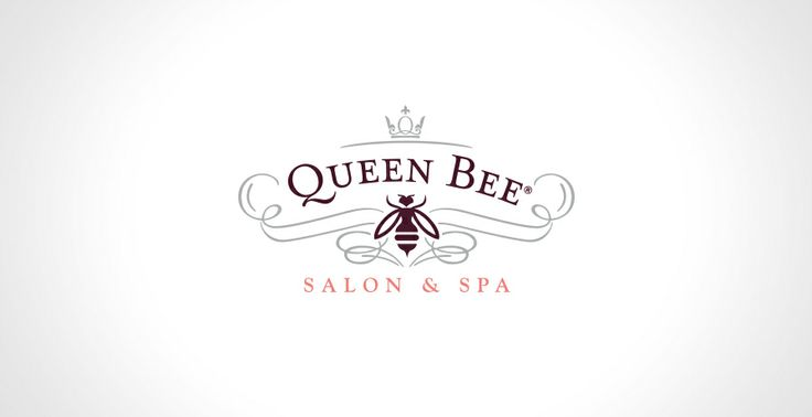 Queen Bee Salon & Spa Logo | Logos + Icons | Pinterest