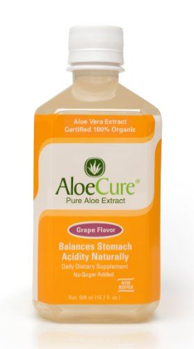 AloeCure Pure Aloe Vera Juice for Bouts of Acid Reflux, Heartburn, and IBS Grape, 6 Bottles AloeCure® http://www.amazon.com/dp/B00GK5HQZ6/ref=cm_sw_r_pi_dp_FRcrub1GQJ18E