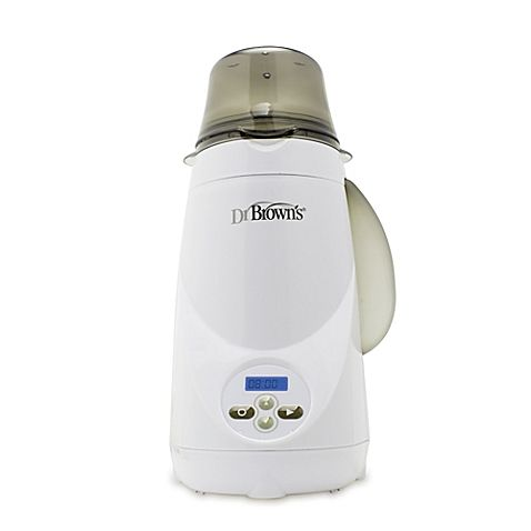 Dr. Brown's® electric steam warming system is the quick and healthy way to warm baby's bottle or food.