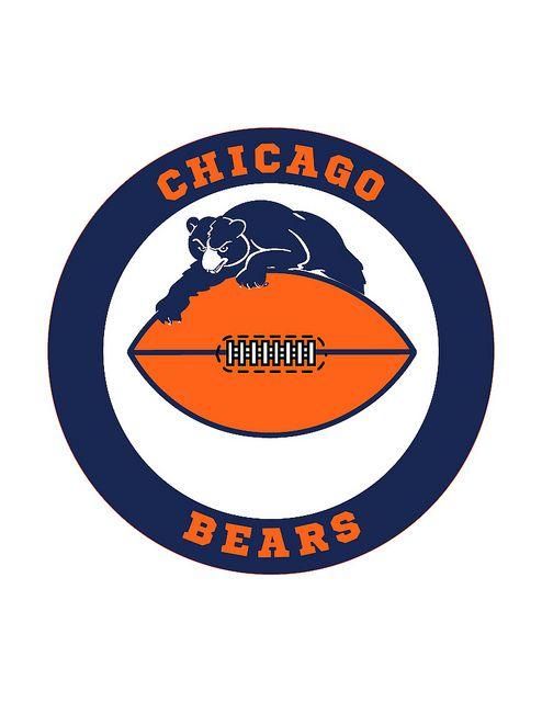 Chicago Bears Logo Circle | Chicago bears logo, Bear logo ...