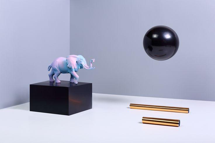 The elephant & the black planet on Behance