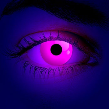 Party-Pink // Glowing Pink Kontaktlinsen #contacts