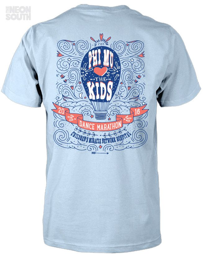 Fresh New Designs!! Visit our site to get your customized order started. Phi Mu   Dance Marathon   Philanthropy   Children's Miracle Network Hospitals   Hot Air Balloon   Sorority Shirts   Sorority Tees   Sorority Tanks   Greek Tees   Greek Tanks   Sorority Shirt Ideas   Greek Shirts