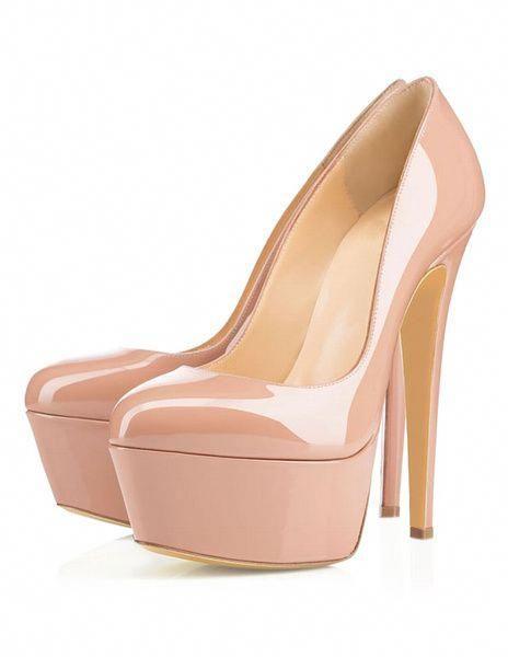 Platform High Heels Women s Round Toe Stiletto Sexy Pumps  Stilettoheels 615c4a6c5602