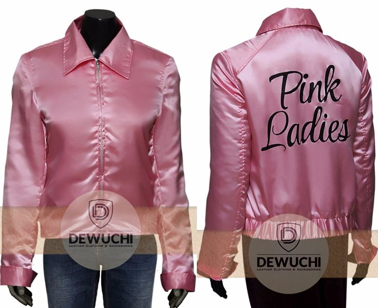 Get Your Favorite Gang Back Together When You Dress Your Group in These Pink Ladies Jackets!! From The Pink Ladies Were a One of a kind Group That Could Sing, Dance, and Throw a Memorable Carnival. Made from Satin Fabric. One of These Authentic Pink Ladies Jackets. Now Available in Only $90.00 Dewuchi.com  #parties #shopping #fashion #womanfashion #girlsfashion #awesome #beautiful #cute #sexy #supersexy #clubs #concerts #stylish #famous #winterfashion #handsome #gift #casual #lovers #hot