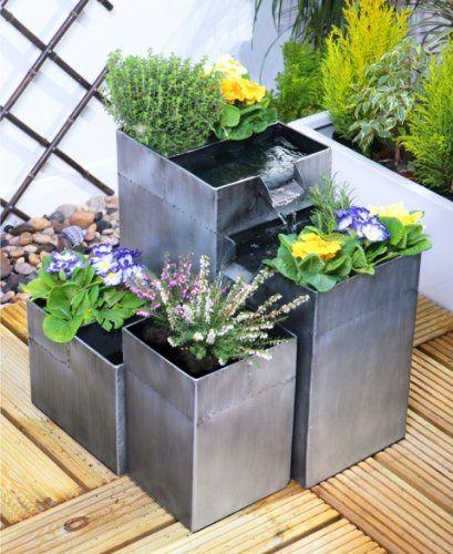 Daintree Planter Cascade Water Feature - Silver Primrose http://www.amazon.co.uk/dp/B008J1BGH8/ref=cm_sw_r_pi_dp_p6zJvb1YHZ371