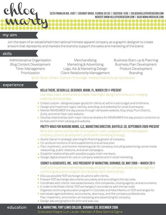 10 best Resume Templates that Get Results! images on Pinterest - brand strategist resume