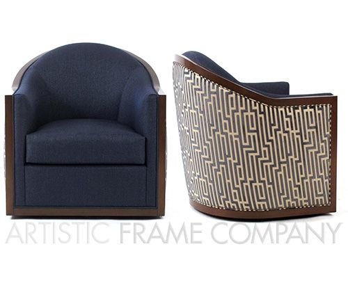 Swivel Club Chair | ArtisticFrame.com