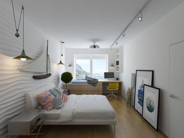 Với một vị trí tuyệt vời bên bờ biển, ngôi nhà này chắc chắn là ước mơ có thật của biết bao người. Một ngôi nhà tràn ngập hơi thở biển khơi đến từng ngóc ngách, từng chi tiết nhỏ.