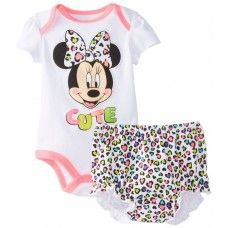 Minnie Mouse 'Cute' Romper & Underwear Set Just $13.95 + Postage!  Sizes: 6-12, 12-18 & 18-24 Months  Link to Order: http://www.babyluscious.com.au/characters/minnie-mouse%20/minnie-mouse-cute-romper-set