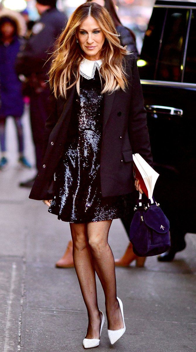 The Best Dressed Stars From Last Night Fashion Sarah Jessica Parker Style Carrie Bradshaw Style [ 1198 x 669 Pixel ]