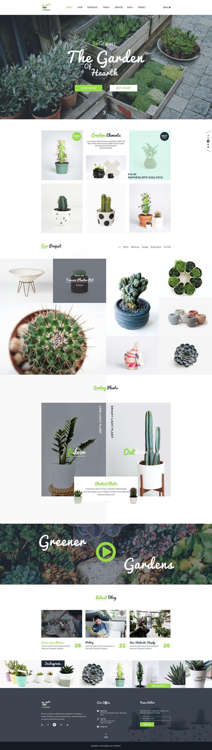 BeGreen - Multi-Purpose WordPress Theme for Planter - Landscaping- Gardening • Download ➝ https://themeforest.net/item/begreen-multipurpose-wordpress-theme-for-planter-landscaping-gardening/17464084?ref=pxcr