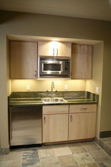 Am nagement d une cuisine d co avec une kitchenette for Petite cuisine kitchenette