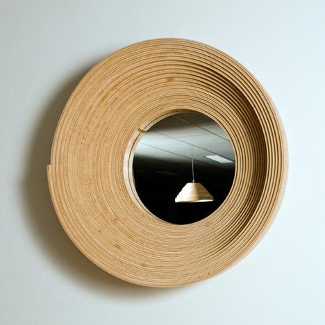 Twisted mirror by Erwin Zwiers