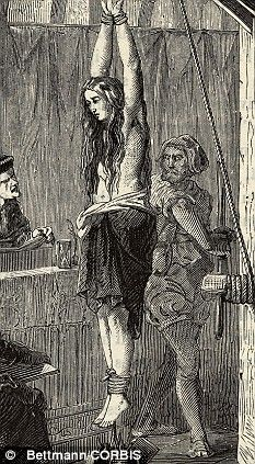 Witchcraft, alleged or real, was treated as any other sort of heresy during the Middle Ages
