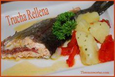 Trucha Rellena Thermomix