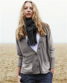 Product Image of Colour Blocked Jersey Cardi