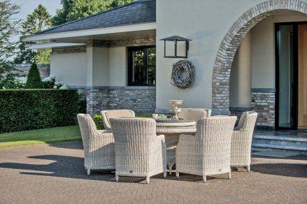 4-Seasons Brighton tuinset Provance. De tuinset met een fantastisch zitcomfort en een erg luxe uitstraling