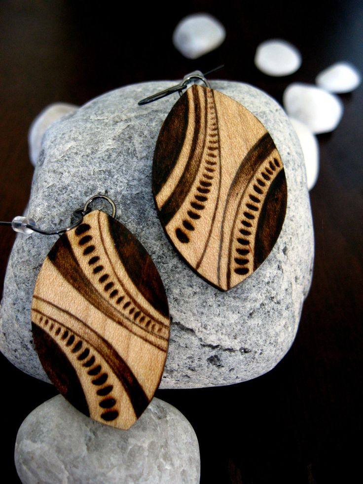 Wooden Earrings\ possibilities are endless!