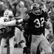As we approach the 40th Anniversary of the Immaculate Reception, NFL Network will air the original TV broadcast of Steelers vs. Raiders from December 23, 1972.  Watch the history-making game today at 3pm Eastern Time on NFL Network.
