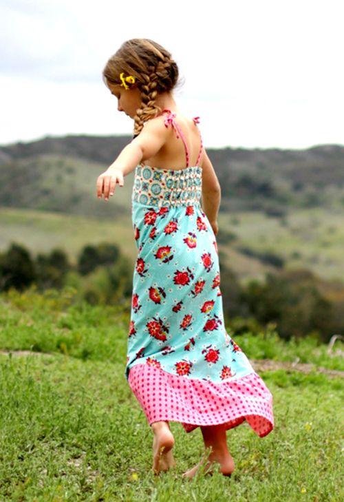 halley maxi dress pattern: Long Dresses, Maxi Dresses, Girls Maxis, Sewing Pattern, Sewing Amazing, Girls Pattern, Maxis Dresses, Kids Clothing, Girls Spring