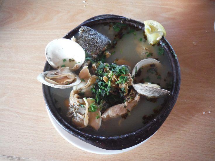 Paila marina (seafood soup)