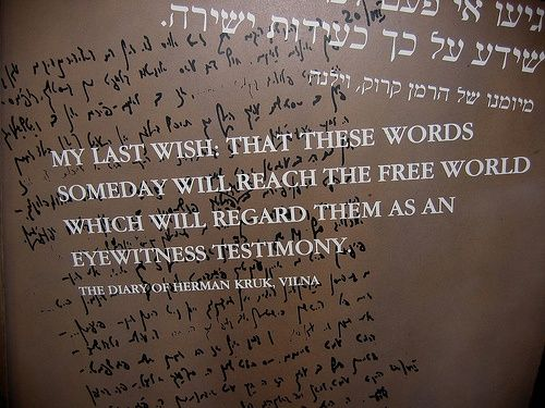 Holocaust Remembrance Day Quotes | Tonight is Yom Hashoah (Holocaust Rememberance Day). NEVER AGAIN.
