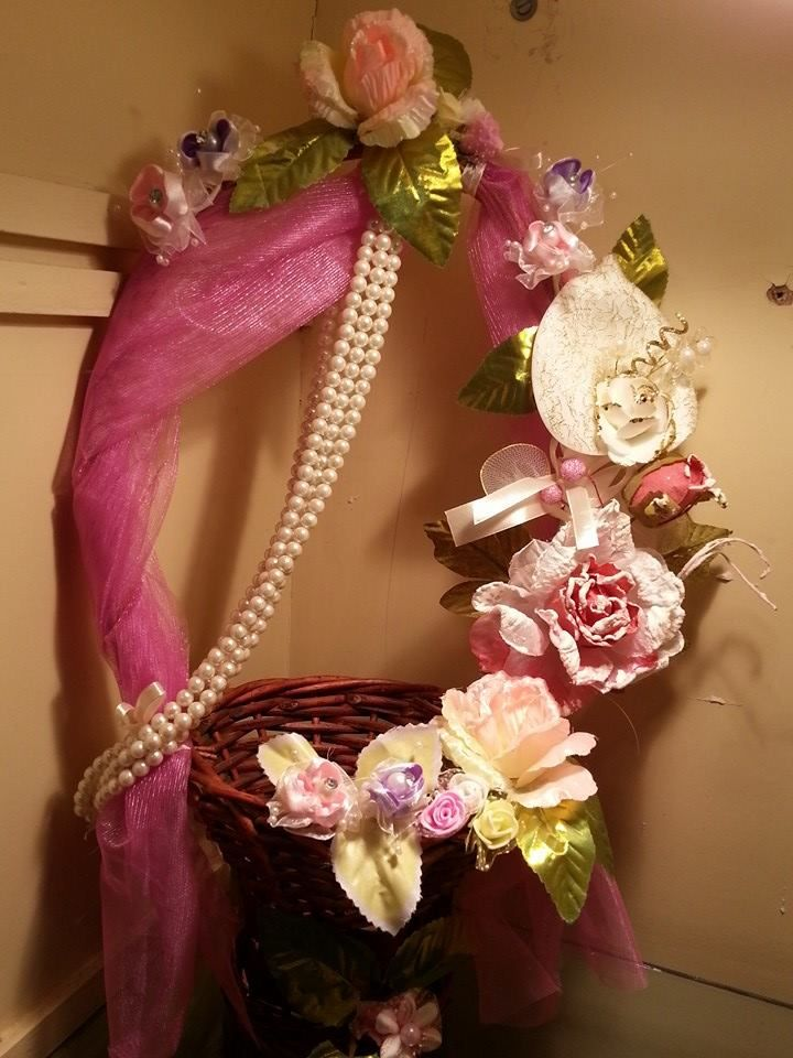 Decorated Basket