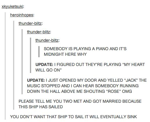 I'm dying! Hahaha! I thought this was doctor who...