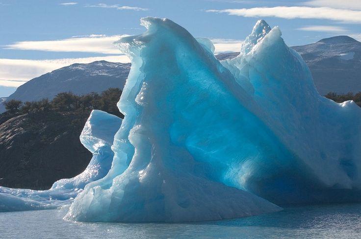 Témpanos (Iceberg), Brazo Norte Lago Argentino (Patagonia, Argentina)
