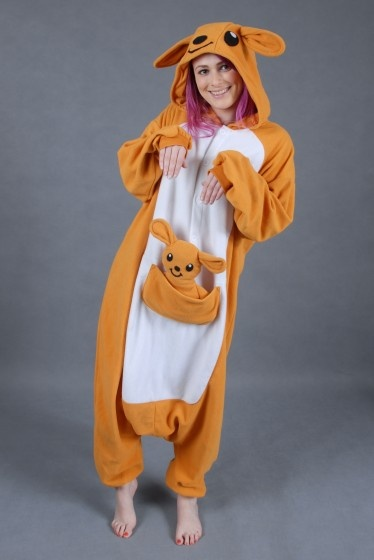 Kangaroo Onesie - perfect for Australia day!