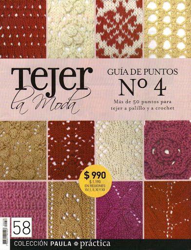 Moda Knitting Pattern Books : 10 Best images about libros de punto y ganchillo on Pinterest Patrones, Cro...